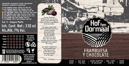 brouwerij boerderij brewery farm craft bier beer sour  chocolate zure van tildonk  frambuesa y chocolate