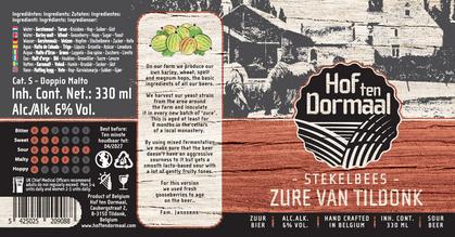 brouwerij boerderij brewery farm craft bier beer zure van tildonk zour stekelbees